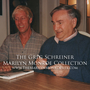 Meet greg schreiner the marilyn monroe site for Evelyn schreiner